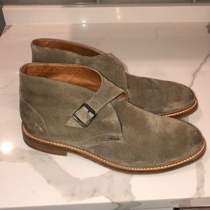 ‼️ FRYE TAUPE SUEDE SHOES